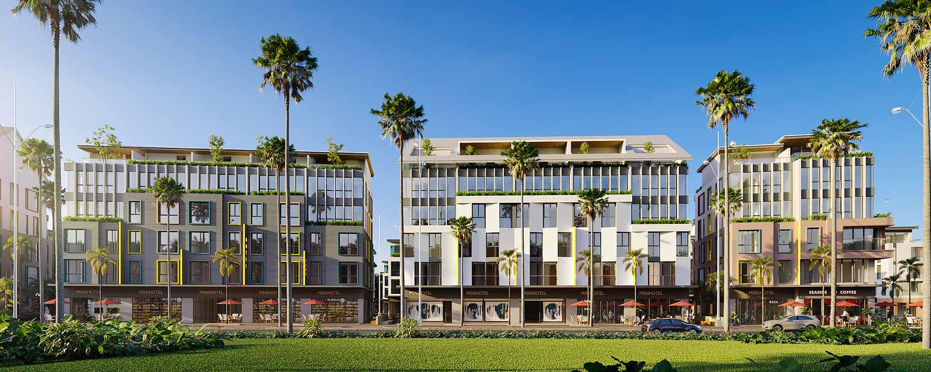 Mini hotel sản phẩm đầu tư hoàn hảo tại Meyhomes Capital Phú Quốc